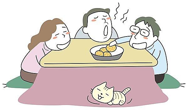 みかんを食べながら、家族でまったり…が最高の時間かも