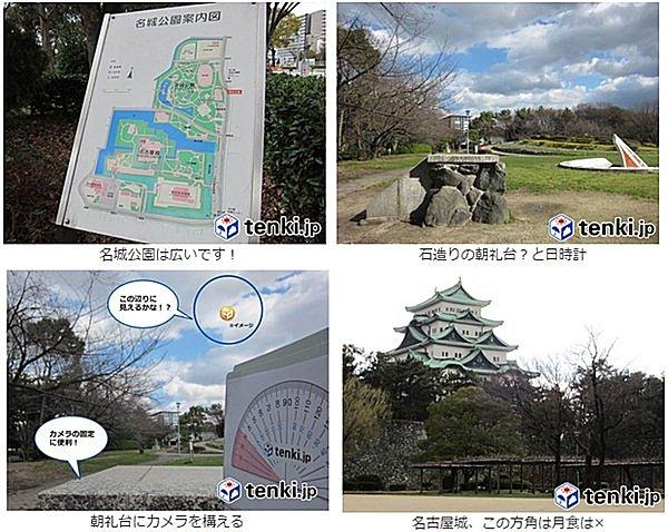 月食花見鑑賞スポット:名古屋編~名城公園北園~