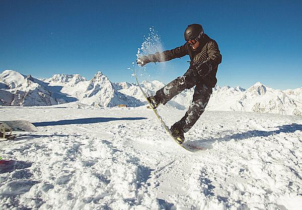 スノーボードも楽しめます!