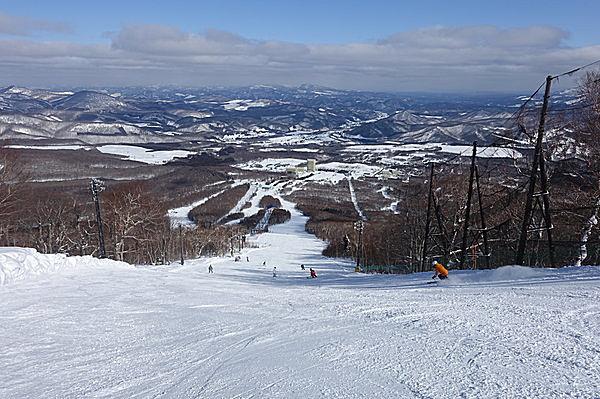 広大な安比高原スキー場