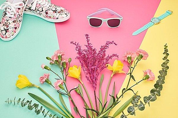 インテリア・小物…小さな模様替え・衣替えで春気分!