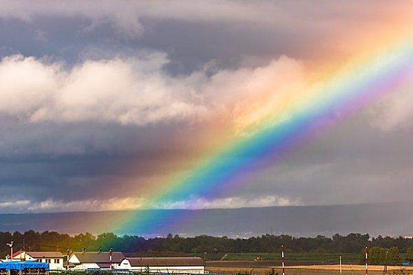 七十二候「虹始見(にじ はじめて あらわる)」。明日はイースター。虹のはじまりをご存じですか?