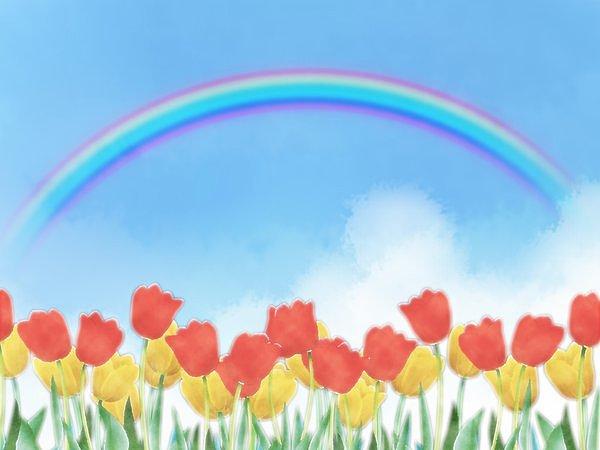 7色の虹からは天上の音楽が?