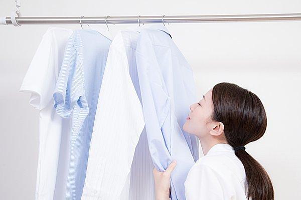 部屋干しでも素早く乾燥させれば、匂わない