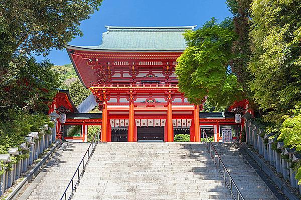 競技かるたの聖地「近江神宮」