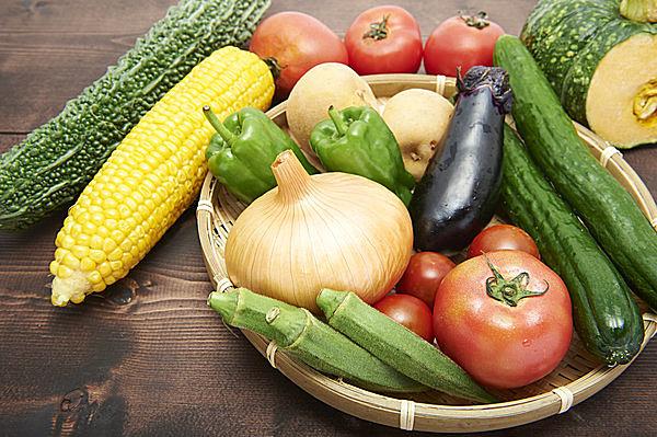 栄養豊富な夏野菜を食べて、夏バテを防止しよう!
