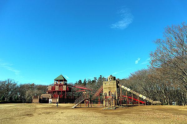 アンデルセン公園の「ワンパク城」