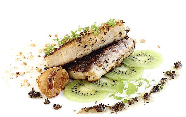 肉料理、魚料理とキウイは抜群の相性