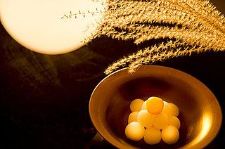 10月4日は中秋の名月。今年は「月より団子」で食べて楽しもう!