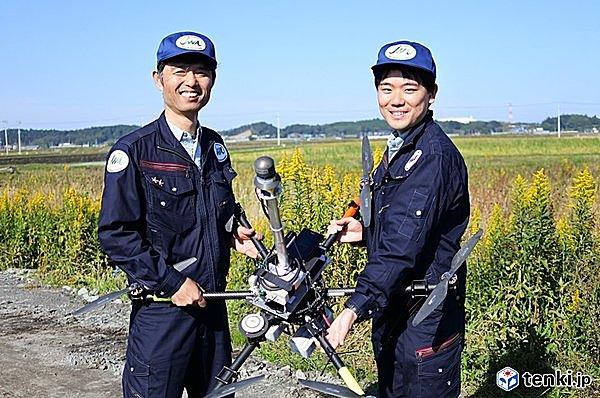 日本気象協会のドローンパイロットチーム 「TeamReNA」