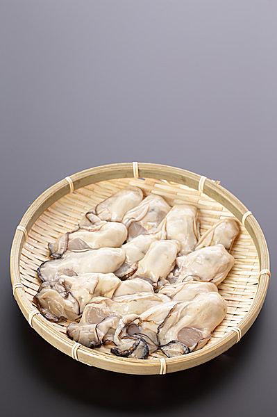 牡蠣には「生食用」と「加熱用」があります(画像は加熱用)