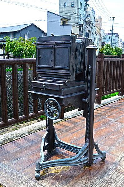 坂本龍馬も写真を撮った、上野撮影局跡