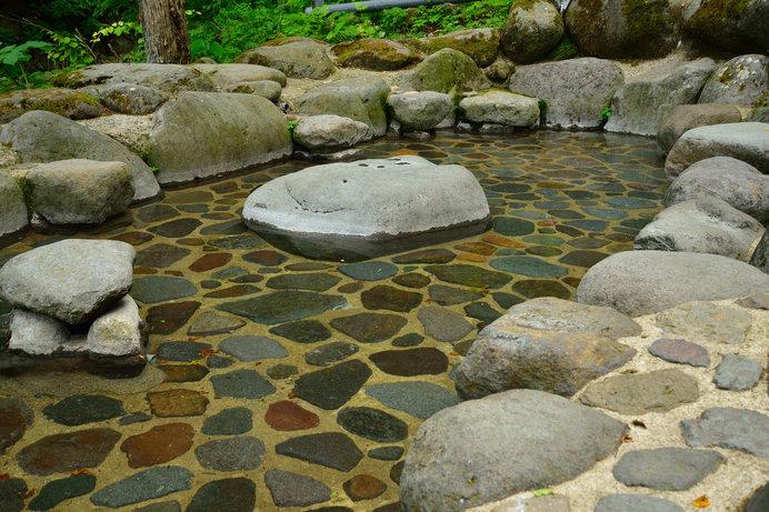 「道の駅 つちゆ」の近くにある、つちゆ温泉の足湯