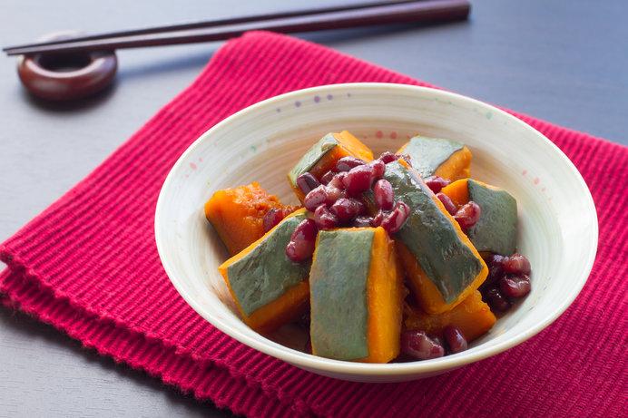 冬至の日にカボチャを食べると、健康によいといわれています