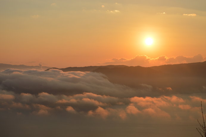 伊藤博文が絶賛したという弥山山頂からの眺望