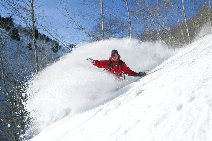 外国人スキーヤー&ボーダーも多い日本を代表するスノーリゾート、白馬八方尾根スキー場
