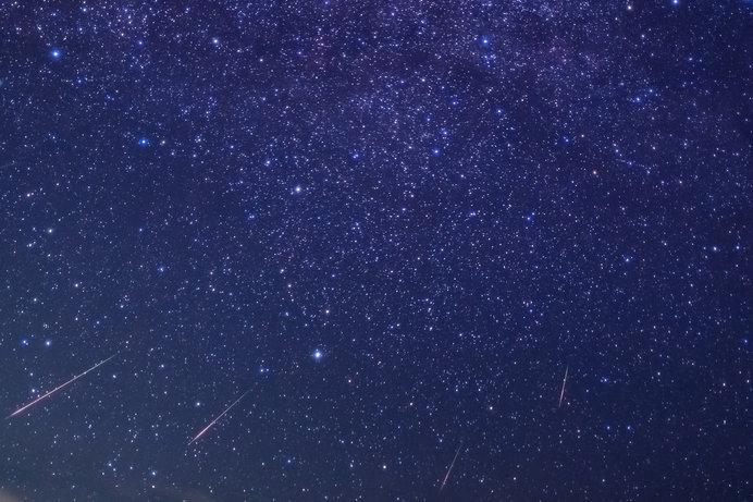 こんなペルセウス座流星群が見られるといいですね