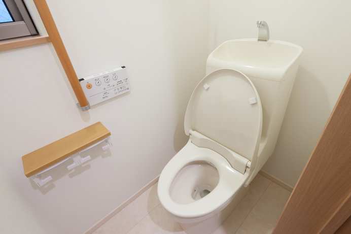 トイレには危険が潜んでいます