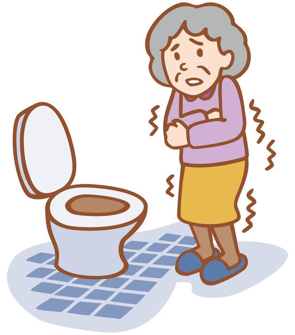 寒いトイレは、ヒートショックを起こしやすい