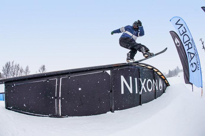 五輪種目のスロープスタイル的に楽しめる舞子スノーリゾートの「SNOW PARK GARDEN」