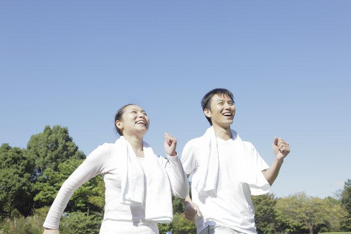 なわとびは、ウォーキングやジョギング、サイクリングと同じ有酸素運動