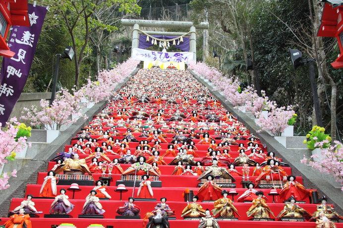 3月4日まで開催中の「かつうらビッグひな祭り」