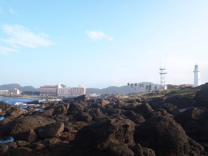 房総半島の最南端、野島崎灯台と太平洋を間近に望むホテル南海荘
