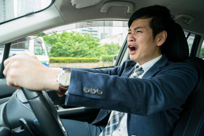 しっかり睡眠を取って、万全の体調で運転の臨みましょう