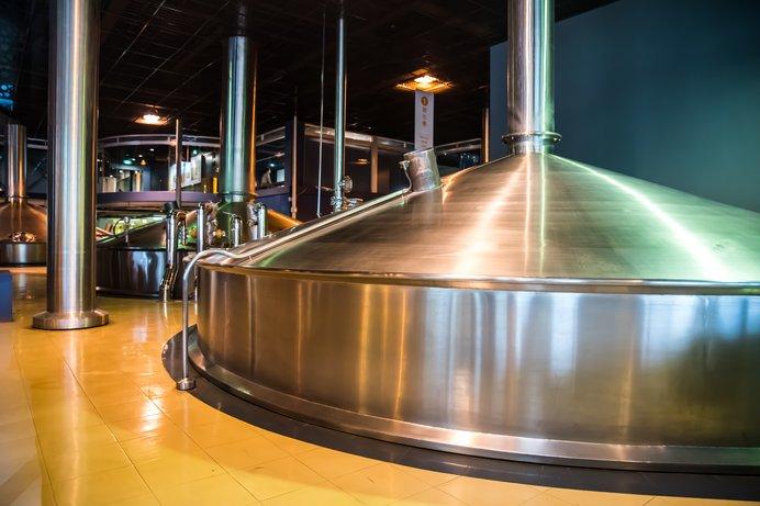 ビールの仕込み窯(写真はイメージです)