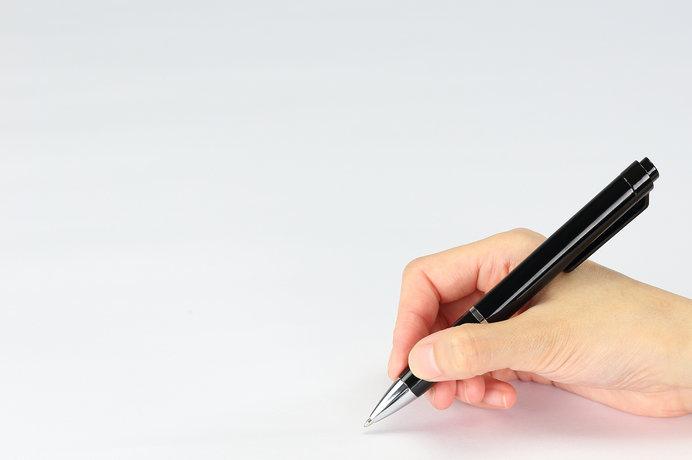 最近のボールペンって書きやすいですよね!
