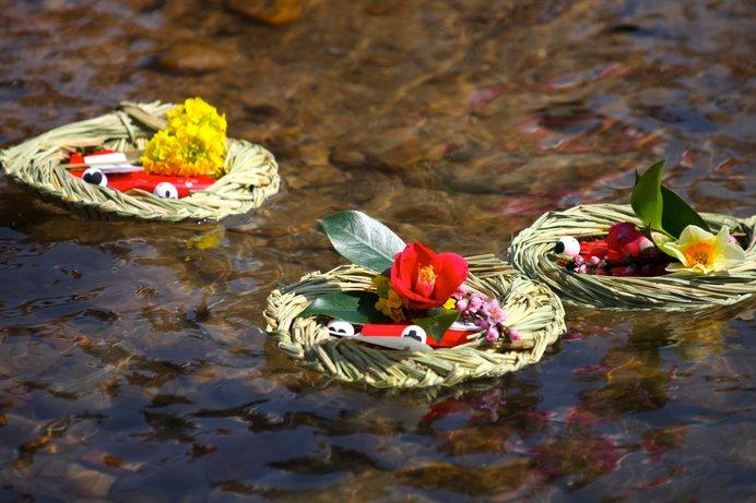 3月3日は上巳の節句。曲水の宴、雛遊び