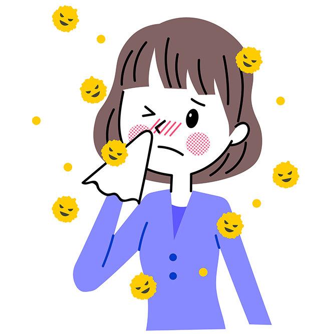 花粉症の方にとっても、洗顔方法が気になる季節です