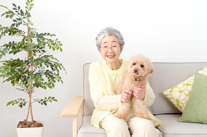 人もペットも高齢化しています