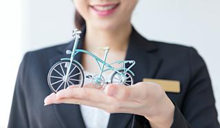警視庁〈自転車安全教室」」○☓クイズに挑戦して、事故から身を守ろう!