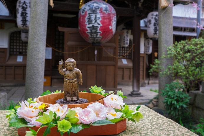 雨宝院の花祭