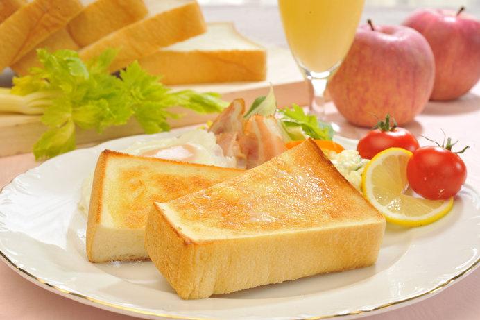 パンは忙しい朝にぴったり! ※画像はイメージ