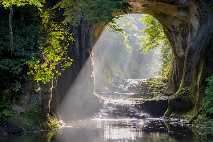自然が織りなす風景はまるで絵画のような美しさ