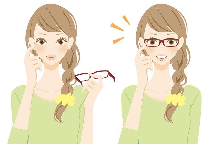 コンタクトやメガネでも紫外線カット仕様がおススメ