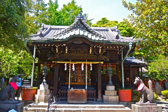 荷風の散歩道:向島 三囲(みめぐり)神社