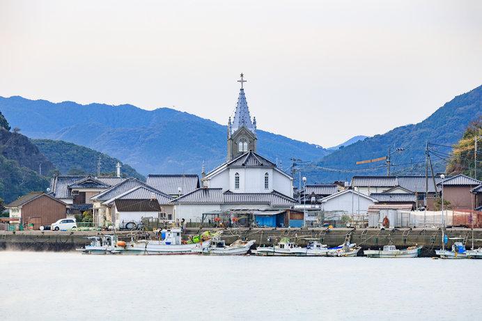 天草 﨑津教会と集落