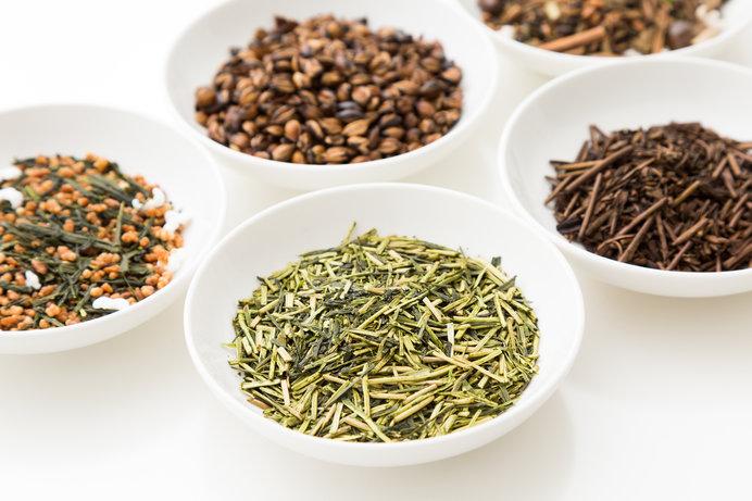 緑茶にはさまざまな種類がある