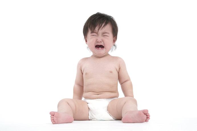 赤ちゃんは泣くことが仕事なんです(笑)!