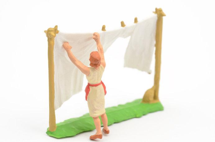 寝具の清潔を保ち、菌の繁殖を防ぎましょう