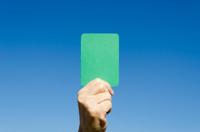 グリーンカードは、フェアプレーの象徴
