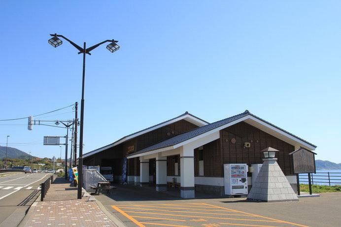 津軽海峡を望む景色のよさが自慢です