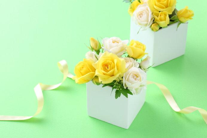 父の日にはバラ?黄色いリボン?