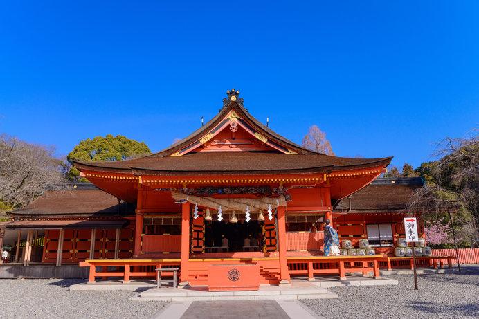 富士山の山開きが行われる富士山本宮浅間大社