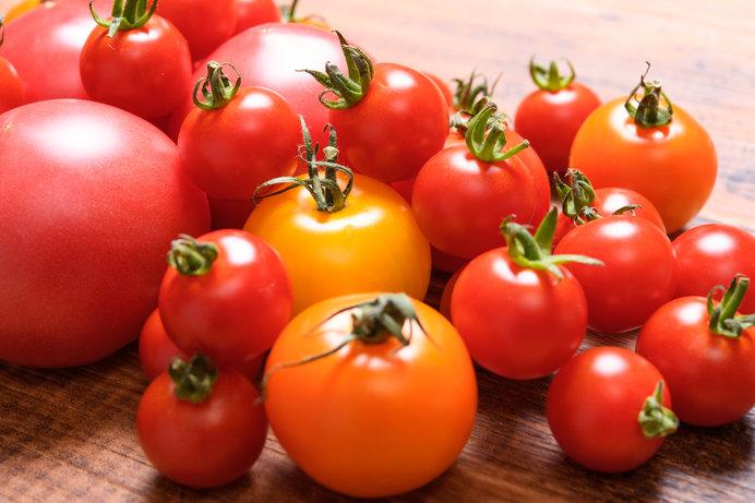 トマトといえば赤色!というイメージですが、ピンク系と赤系に分けられます