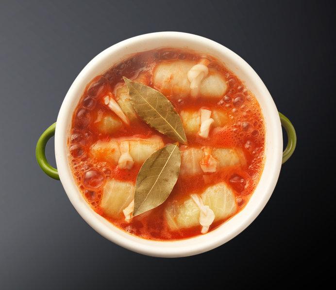 トマトソースのロールキャベツ