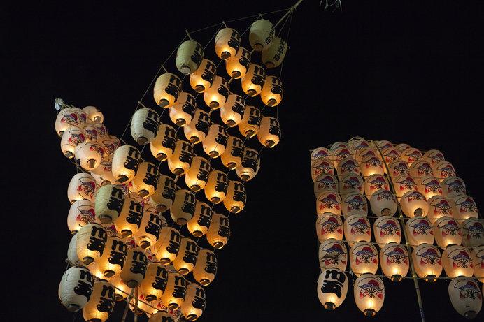 「東北夏祭り」の中でも高い人気を誇る「秋田竿燈まつり」